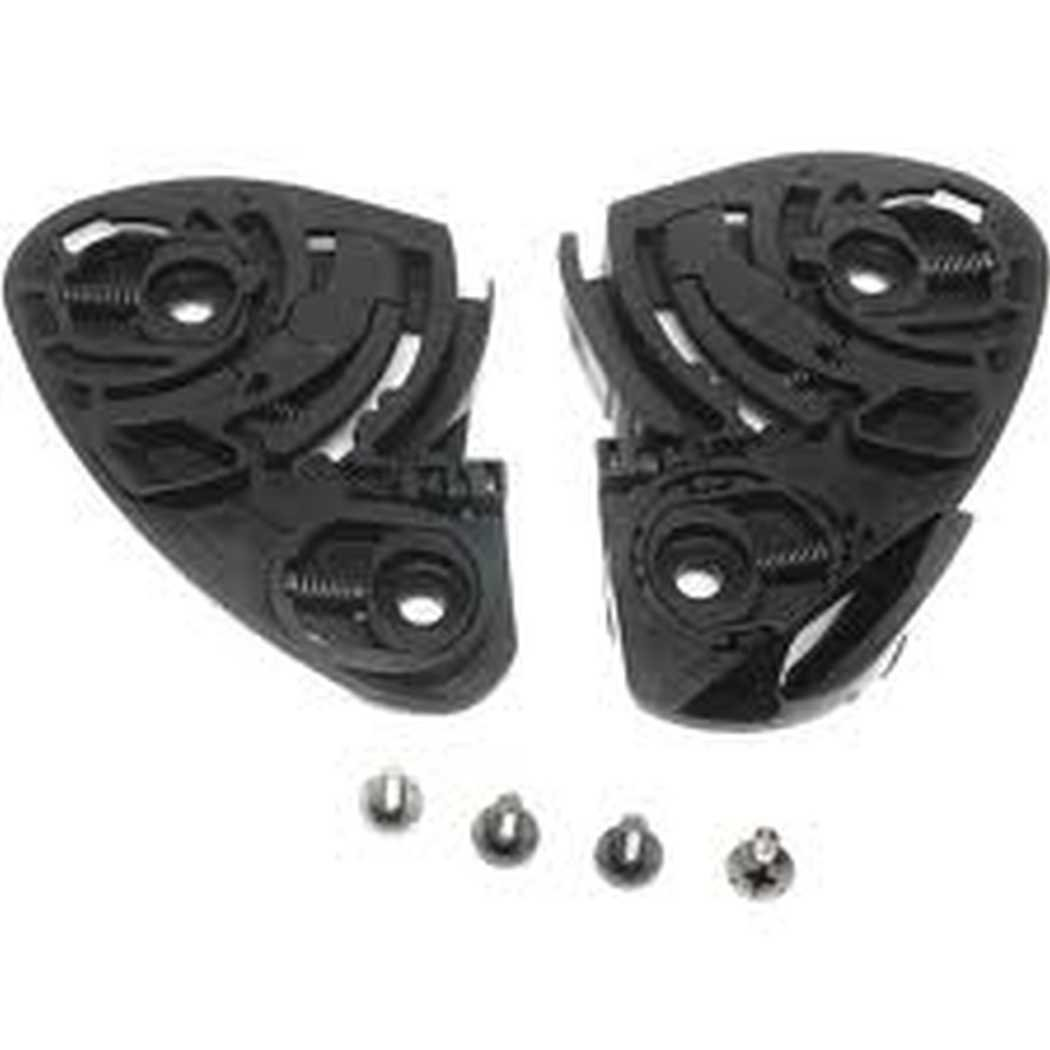 Shoei CW-1 Gear/Ratchet Kit Base Plate Set W/Screws,Black,X-Twelve(X12)/RF-1100 Qwest by Shoei (Image #1)