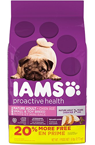IAMS PROACTIVE HEALTH Mature Adult Small and Toy Breed Dry Dog Food 6 Pounds