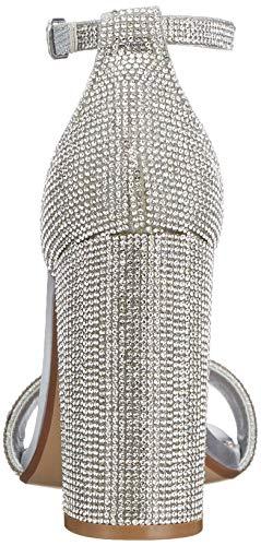Caviglia Carrson crystal r Madden Donna Argento 968 Cinturino Con Sandali Steve Alla xRwnS1On0