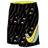 Nike Boy's Vivid Swoosh 9'' Swim Trunks M Volt