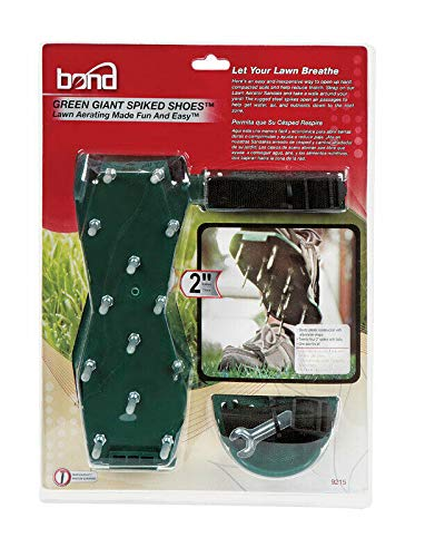 woodstokstore Bond Green Giant Spiked Shoes Lawn Aerator