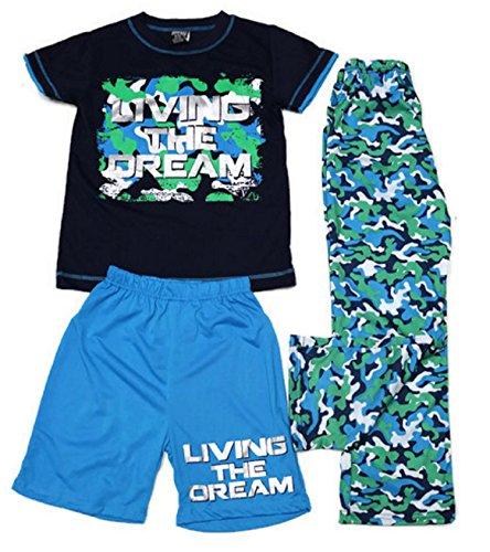 Boys Sleep camouflage Print Blue product image