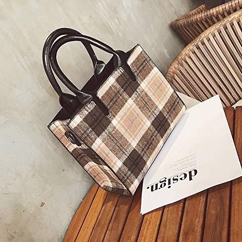 Creative All Borsa media chiaro per diagonale Borsa donna Borsa a Match Multi tracolla a Fashion Killer tracolla Bag verde Function Check Bag qTwqfvYr