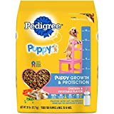 PEDIGREE PUPPY Growth and Protection Chicken & Vegetable Flavor Dry Dog Food; 100% Complete and Balanced - for wellness and whole body health