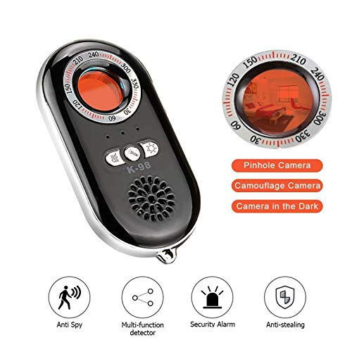 Techworld Bug Detector, Anti Spy Camera Detector Wireless RF Signal Detector for Hidden Camera, GSM Tracking Device for Wireless Audio Bug Hidden Camera Detector (k98)
