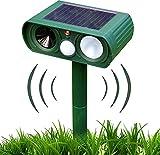 TeeMixed Solar Ultrasonic Dog Repeller, Animal