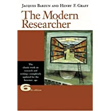 The Modern Researcher (with InfoTrac)