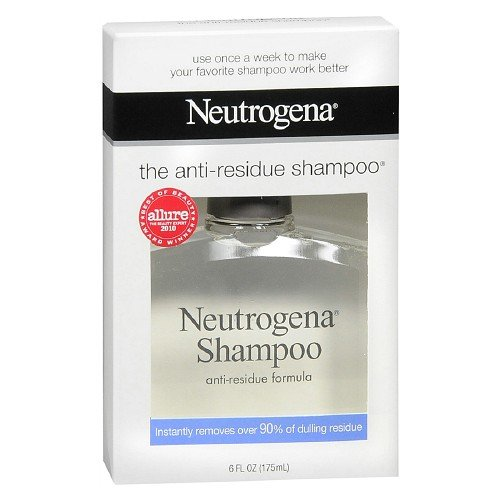 Neutrogena Shampoo, Anti-Residue Formula 6 fl oz Pack of (2)