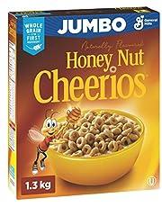 Cheerios Honey Nut Jumbo Cereal, Twin Pack