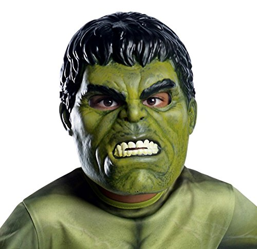 [Officially Licensed Children's Avengers: Age of Ultron Hulk Latex Mask (One Size- Child)] (Comic Book Couples Costumes)