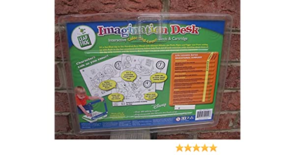 Amazon.com: Leap Frog Imagination Desk Interactive Color-and-Learn ...