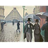 Paris Street rainy day 1877 Poster Print by Gustave Caillebotte (24 x 36)