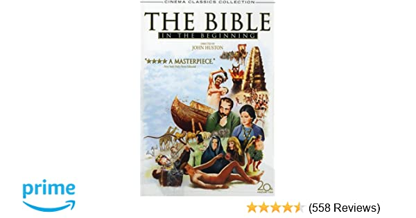 the bible in the beginning 1966 narrator