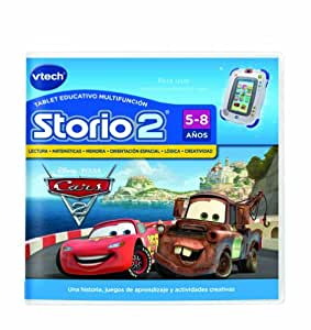 VTech - Juego para Tablet Educativo, Storio, Cars (80-230122)