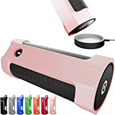 Amazon Tap Case Sling Cover by Cuvr | Easy to Dock and Anti Roll Accessories (Rose)