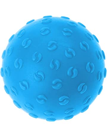 LIOOBO Bola de Masaje de Silicona Texturizada - Bola de Ejercicio pequeña para Yoga Fascia Pie
