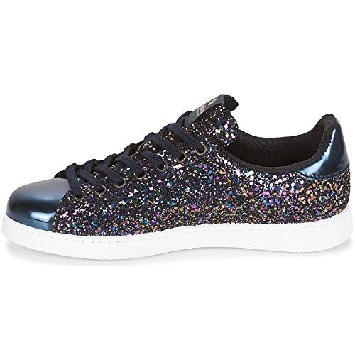 Victoria Mujer Zapatillas Glitter Para Marino Deportivo 8pwYfrqx8