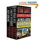 Licensed to Thrill 5: Hunt For Jack Reacher Series Thrillers Books 4-6 (Diane Capri's Licensed to Thrill Sets)