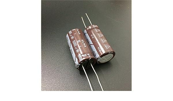 2 pcs Elna SILMILC II Capacitors 10V 1000uf
