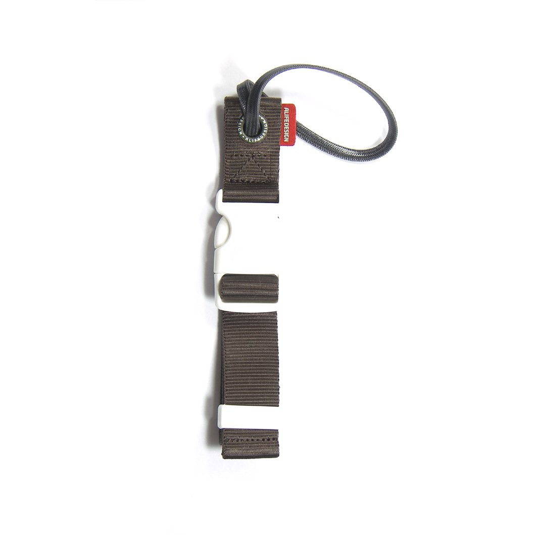 Alife Travel Jacket Gripper Pop Hold Your Jacket Keep Your Hands Free (Brown)
