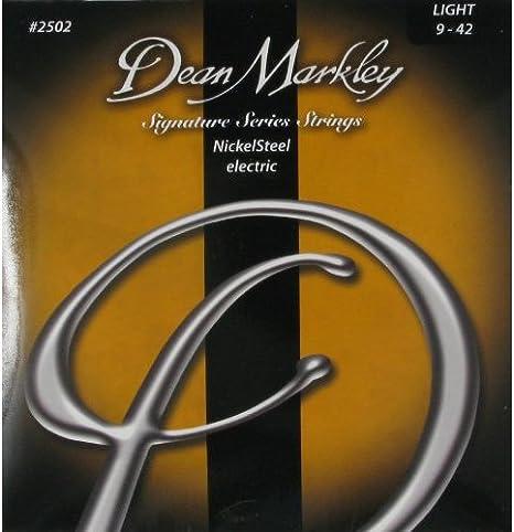 Dean Markley NickelSteel Electric LT 2502 - Juego de cuerdas para ...