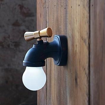Zantec Chambre A Coucher Wc Nuit Lampe Fantaisie En Forme De Robinet