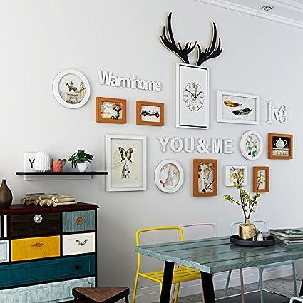 Foto Relojes de pared restaurante minimalista moderno con ...