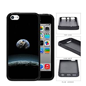 Earth Aerial View From The Moon Rubber Silicone TPU Cell Phone Case Apple iPhone 5c