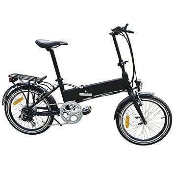 Panda Stealth: bicicleta eléctrica plegable ebike, 36 V 10.4 Ah oculta recargable rueda de