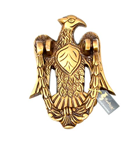 Handecor Vintage Eagle Design Brass Door Knocker