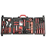 Mannesmann Household Tool Set in Foldable Case (60 Pieces) by Brder Mannesmann
