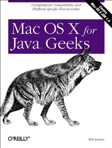 Mac OS X for Java Geeks by O'Reilly Media