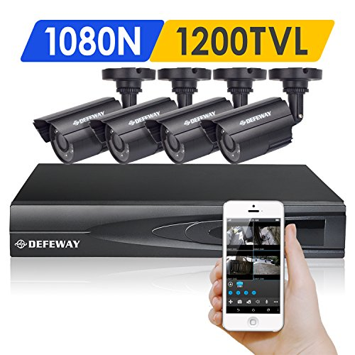 DEFEWAY 1080N DVR 1200TVL 720P HD Outdoo - Home Surveillance Camera Shopping Results