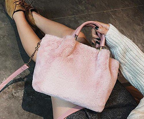 De Hombro Señoras Nueva Las Bangalor Match Pink Negrobolso De Doble Meaeo Moda Todos AYwRB