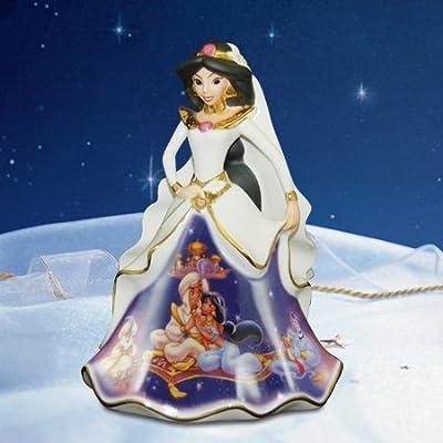 Disney Forever Jasmine Bradford Exchange Bell Figurine
