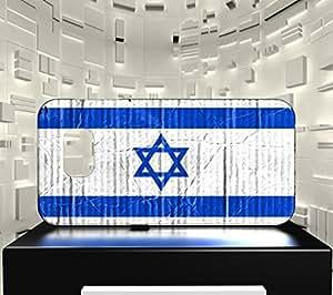 Funda Carcasa para Galaxy S6 Bandera ISRAEL 04