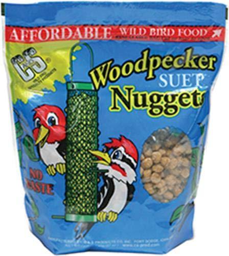 (C & S CS06109 Woodpecker Nuggets, 27 oz Pack, Multicolor)