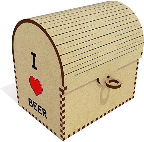 I Love Beer' Schatztruhe / Schmuckschatulle (TC00000568)