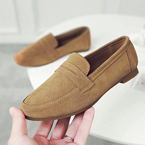 39 Britannique Femme Hwf Printemps Shoes À Style Simples Taille Plat rrqRpF
