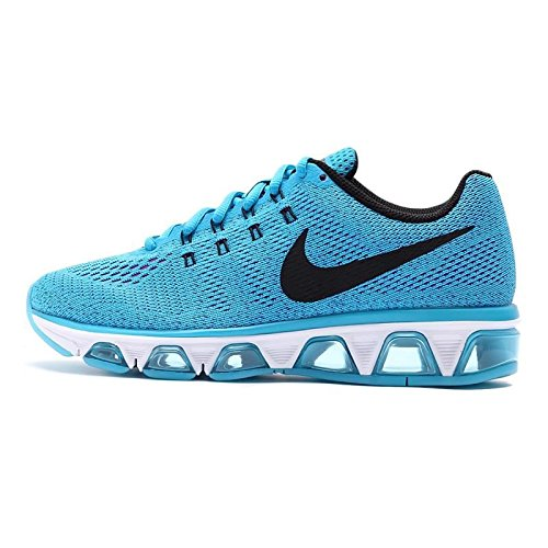 Nike Women's Air Max Tailwind 8 Blue Lagoon/Black/Vivid Purple Ankle-High Mesh Running Shoe - 8M by NIKE