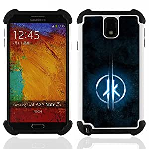 For Samsung Galaxy Note3 N9000 N9008V N9009 - JK Dual Layer caso de Shell HUELGA Impacto pata de cabra con im??genes gr??ficas Steam - Funny Shop -