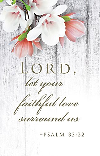 Faithful Love Wedding Bulletin (Pkg of 50)]()