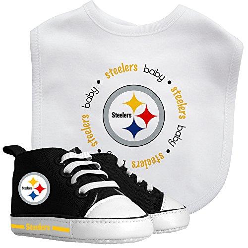 (Baby Fanatic Bib and Prewalker Set, Pittsburgh Steelers)