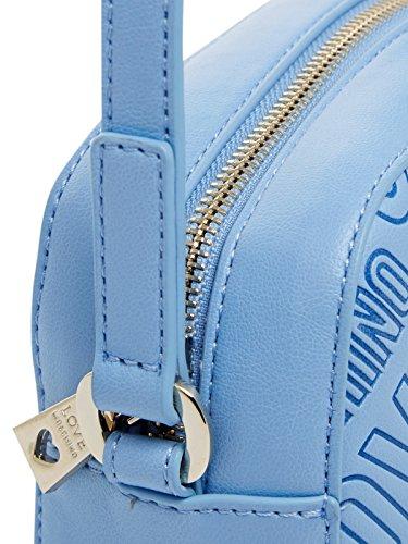 Love Moschino - Bolso al hombro de cuero sintético para mujer Avio