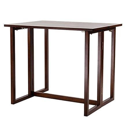Come Costruire Un Tavolo In Legno Allungabile.Fengbingl Hm Tavolo Consolle Allungabile In Legno Pieghevole
