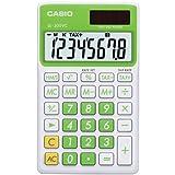 Casio SL300VCGNSIH Solar Wallet Calculator with 8-Digit Display (Green)