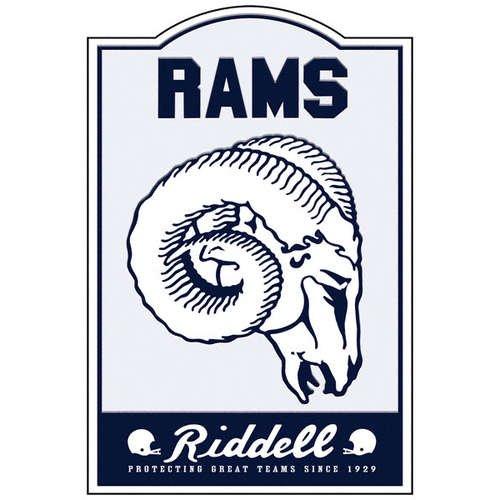 St. Louis Rams Nostalgic Sign