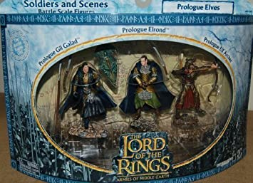 Lord of the Rings Armies of the Middle Earth Prologue Elves 3-pack by Playalong: Amazon.es: Juguetes y juegos