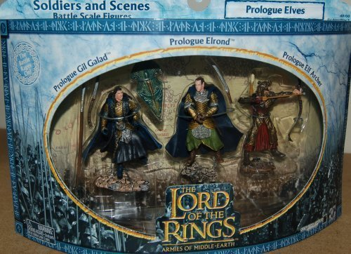 Lord of the Rings Armies of Middle Earth Soldiers And Scenes Prologue Elves by Lord of the Rings Armies of the Middle -