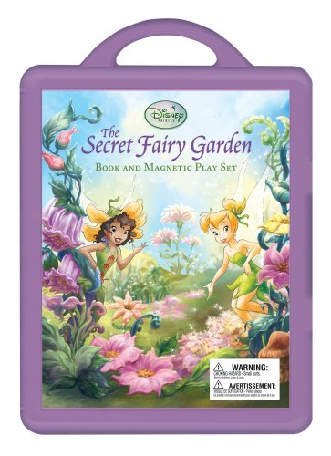 Secret Fairy Garden, The: A Magnetic Play Set (Disney - Magnetic Playboard Fairies